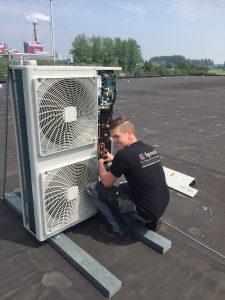 klimaatinstallatie Alkmaar bedrijfspand groot