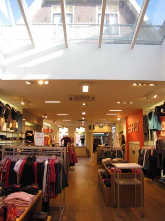 Esprit winkel noord holland onderhoud airco gebouw