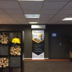 NH detachering wand unit airco Daikin Spruijt Klimaattechniek kantoor unit