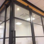 De Rijp plafondinbouw unit airco kantoor