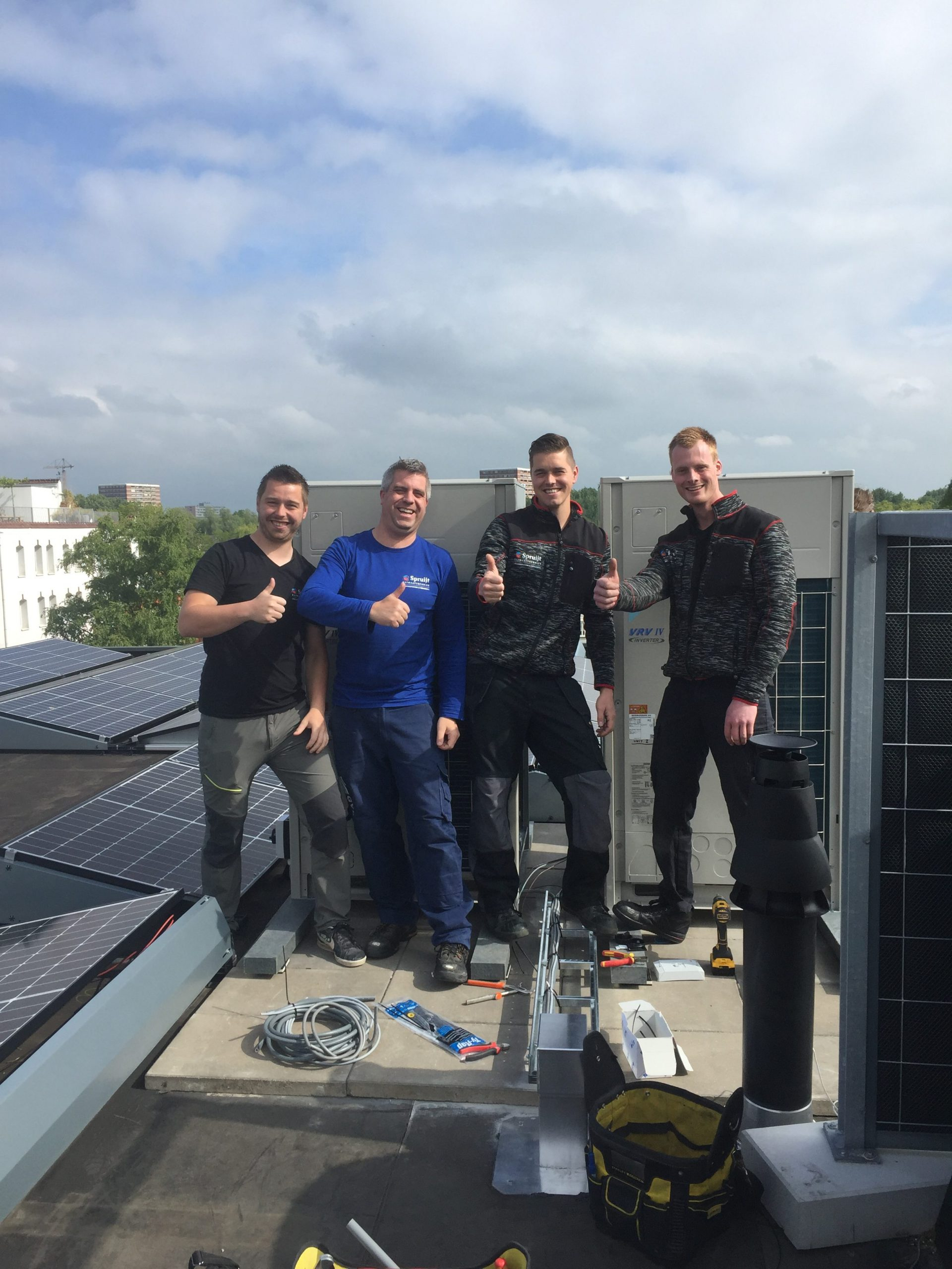 Spruijt Klimaat - Team Spruijt Klimaattechniek medewerkers airco Amsterdam