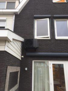 Spruijt Klimaat - Zwart gespoten airco buiten unit wognum Spruijt Klimaat