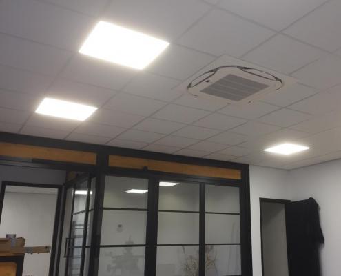 Spruijt Klimaat - De Rijp plafondinbouw unit airco kantoor