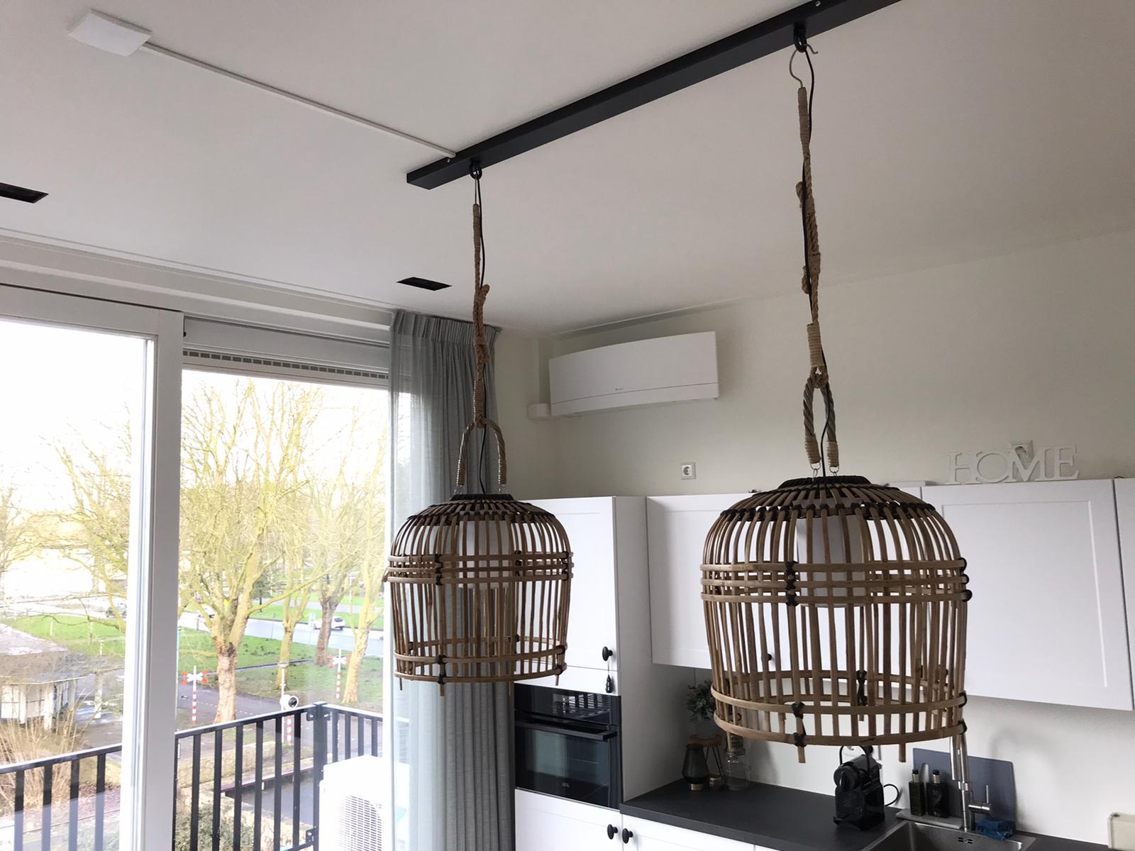 Spruijt Klimaat -Airco keuken appartement Amsterdam daikin emura spruijt klimaattechniek