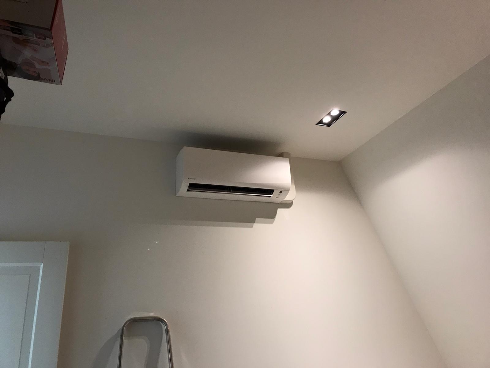 Spruijt Klimaat -Slaapkamer stille airco appartement Amsterdam
