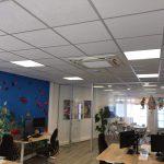 Kantoor Monnickendam plafond inbouw airco Spruijt Klimaat