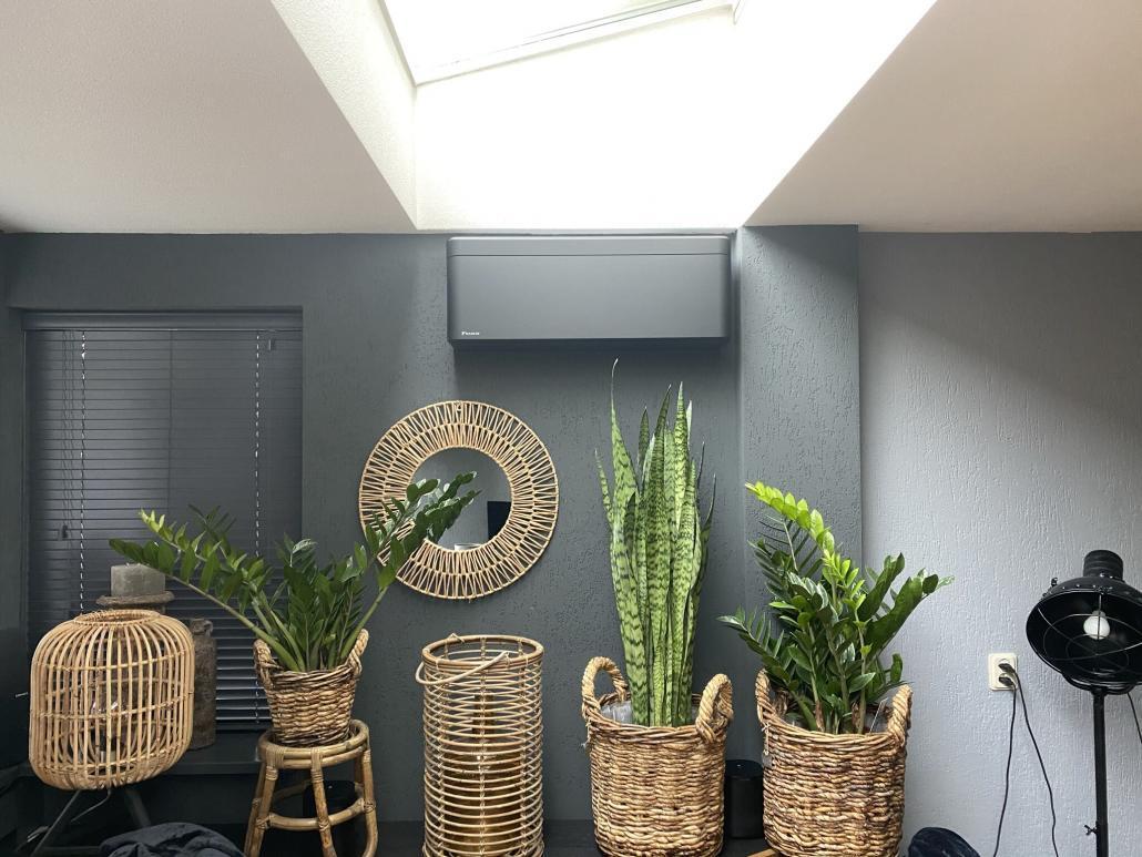 Spruijt Klimaat airco Stylish mat zwart